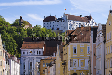 st ignatius church trausnitz castle old