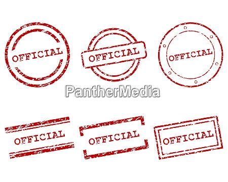 offizielle briefmarken