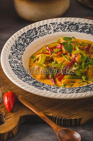 chicken, curry, delisches, essen - 27127570