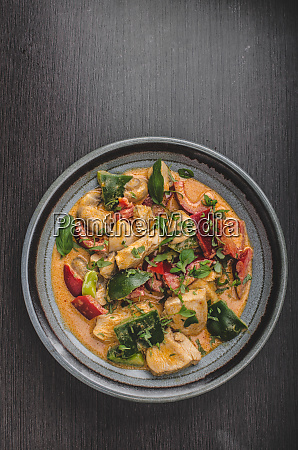 curry huhn gemuese frische lebensmittel