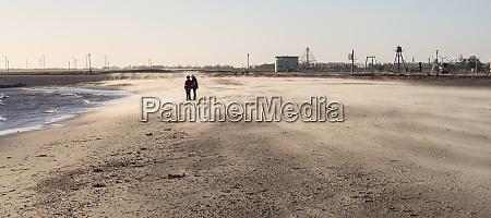sandsturm am strand von schillig