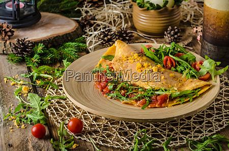vegetarisches omelett