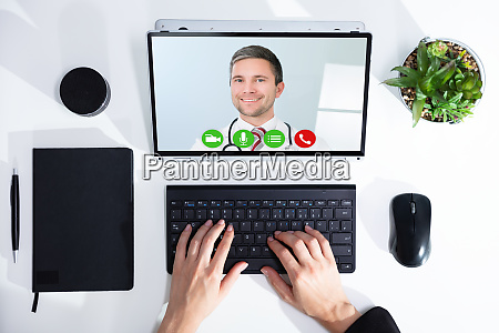 video chat mit arzt