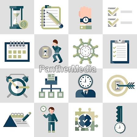 time management leadership training businessman running