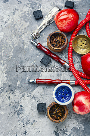 hookah with nectarine flavor