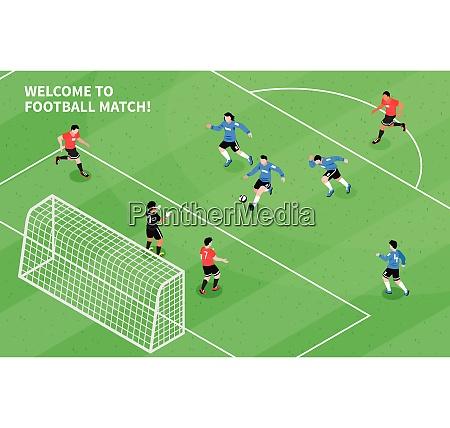fussball fussball spiel moment mit angriff