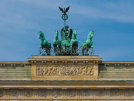 brandenburger tor brandenburg gate in berlin