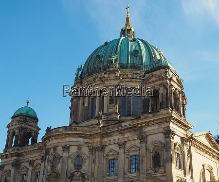 berliner dom cathedral in berlin
