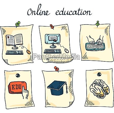online bildung e learning webinar digitale