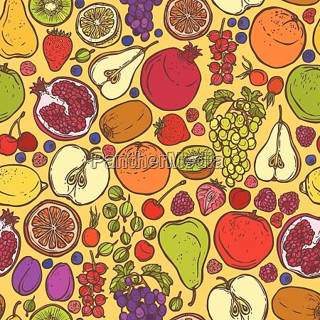 natural organic organic fruits and berries