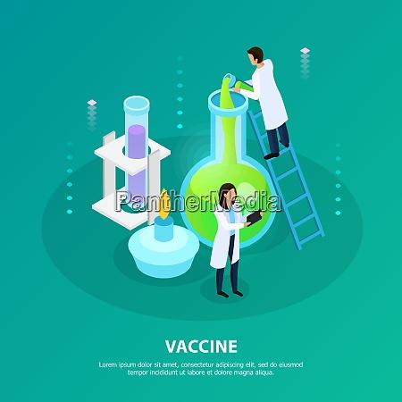 wissenschaftler bei laborexperimenten zur impfstoffentwicklung auf