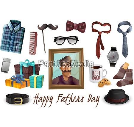 happy fathers day celebration accessories presents