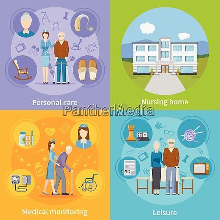 pflegeheim 2x2 designkonzept mit persoenlicher altenpflege