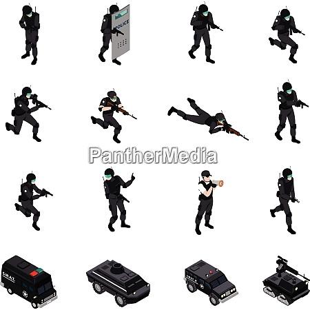 swat spezialwaffen und taktik strafverfolgungseinheiten munition