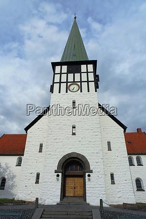nikolaikirche in ronne bornholm