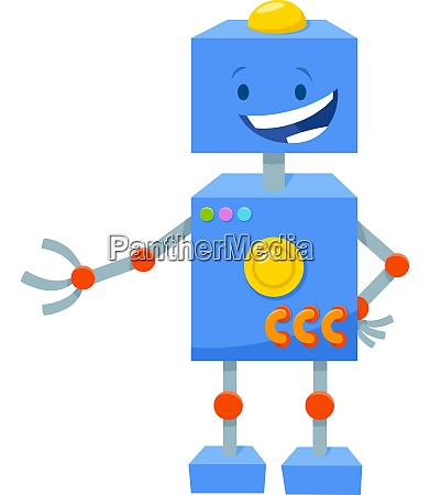 robot cartoon fantasy comic character