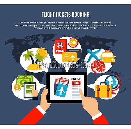 tickets online booking flat advertisement air
