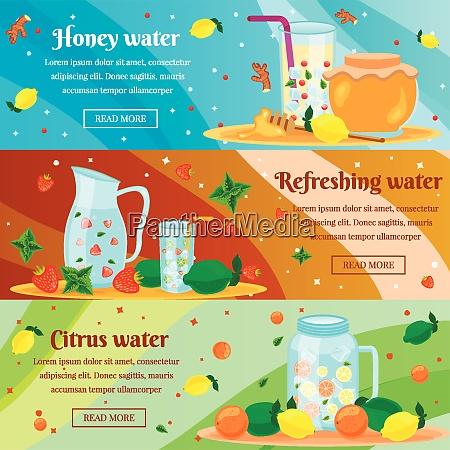 detox, honig, zitrus, wasser, reinigung, körper - 27201486