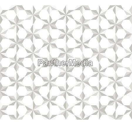 seamless pattern white stars polygon background