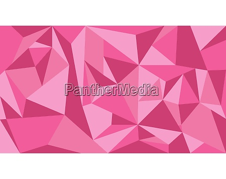 pink tone polygon abstract background