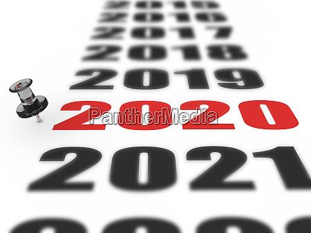 neues jahr 2020