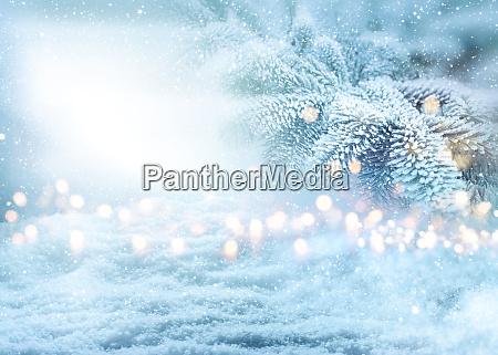 wintry weihnachten hintergrund