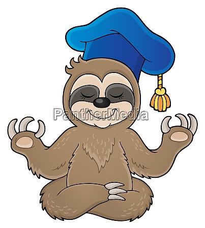 sloth teacher theme image 1