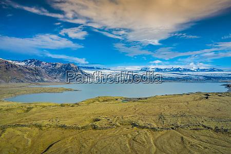 vatnajokull gletscher vatnajokull nationalpark islands groesster