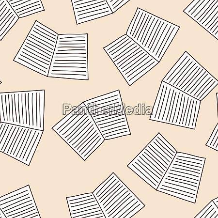 school notebook seamless
