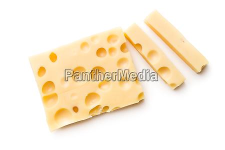 block von leckerem kaese