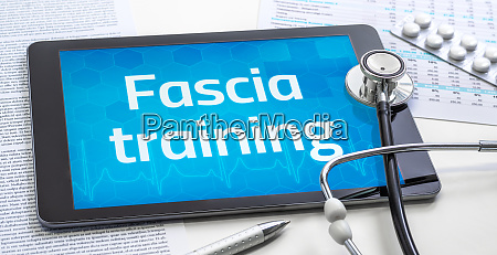 the word fascia training on the