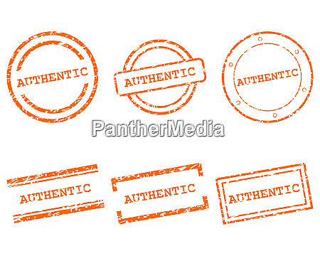 authentic stamps