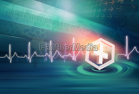 medical news background concept series
