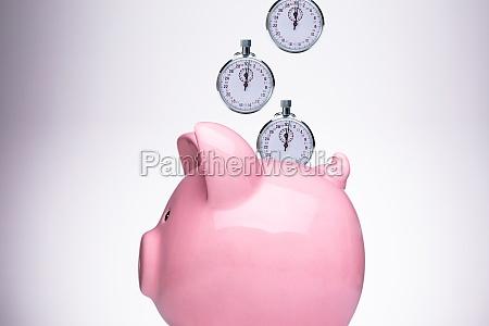 piggy bank unterteilt in sparkategorien