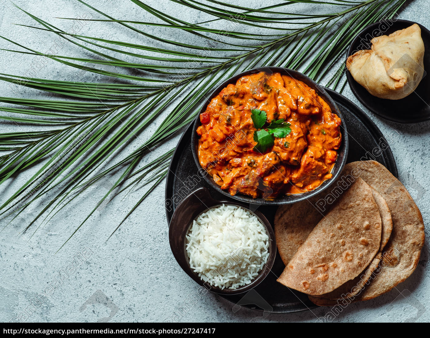indische, küche, und, indische, küche, gerichte, kopierraum - 27247417