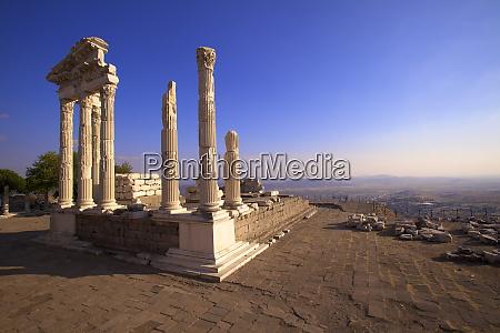 temple of trajan bergama pergamum anatolia