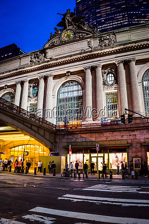 grand central terminal abend new york