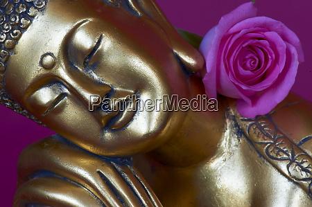 head of buddha statue bangkok thailand