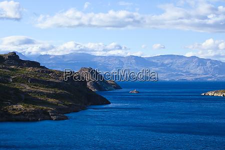 lago general carrera lake in chile