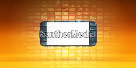 smartphone app mockup