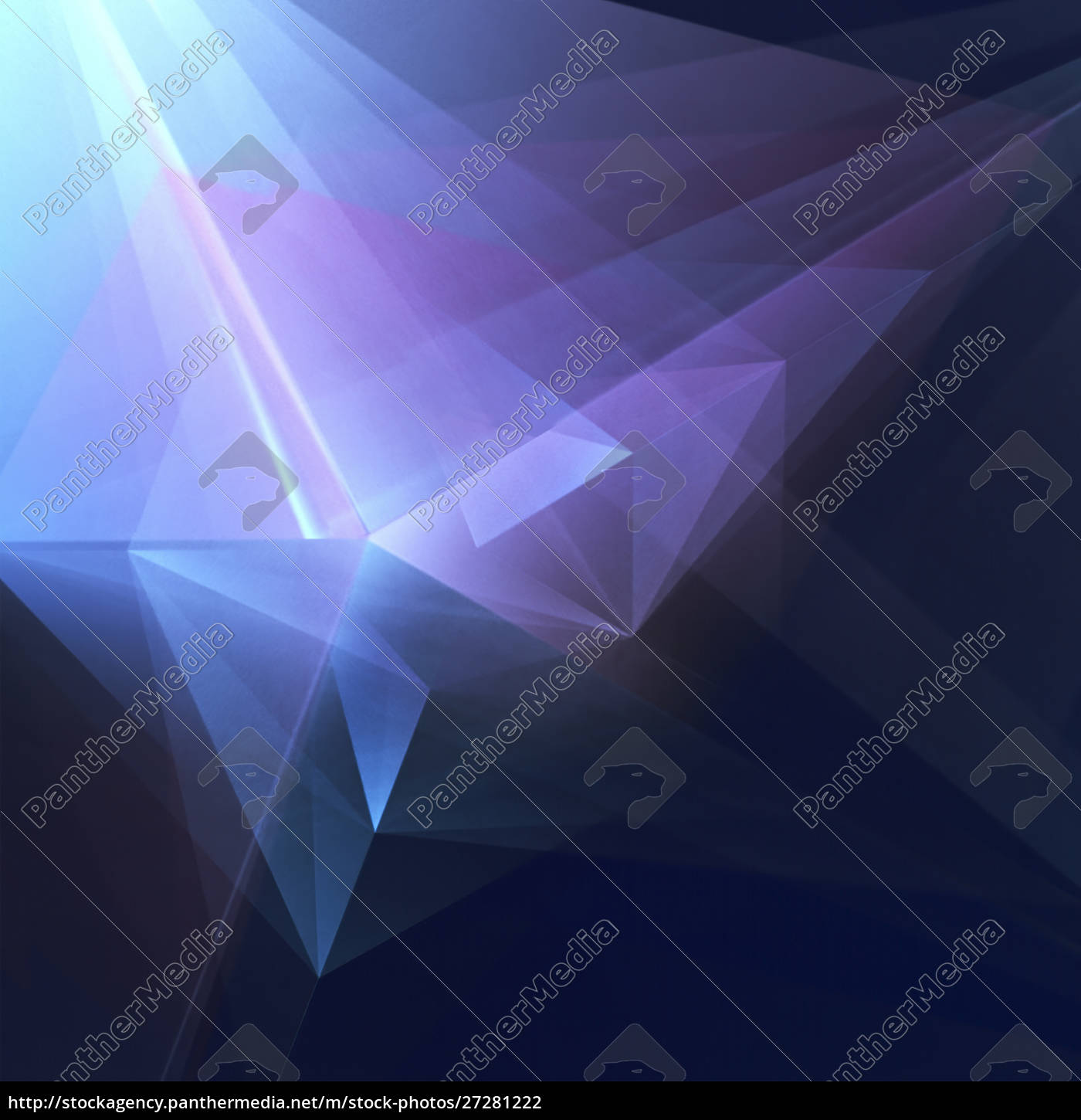 abstract, geometric, blue, -, purple, background - 27281222