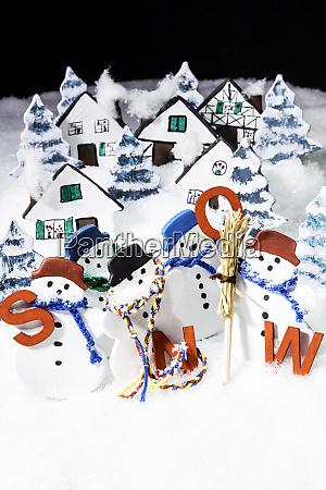 lassen sie es schneien