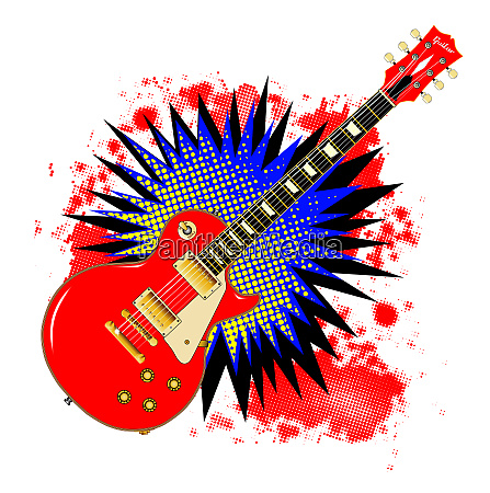 gitarre comic bang