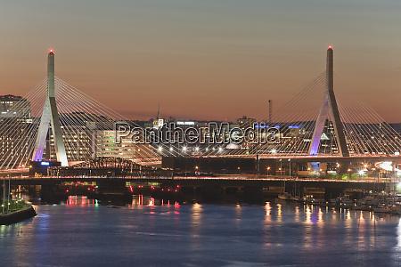 bridge across a river leonard p