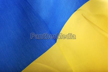 die flagge der ukraine ist ein