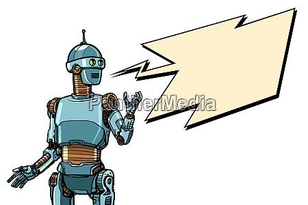 roboter cyber monday werbeplakat