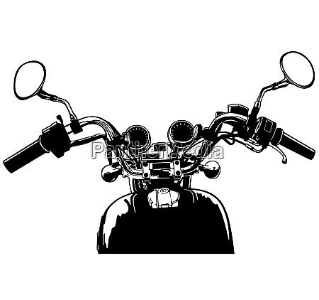 blick vom motorrad