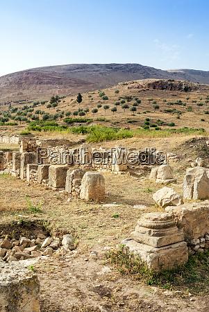 isis temple roman ruins of bulla