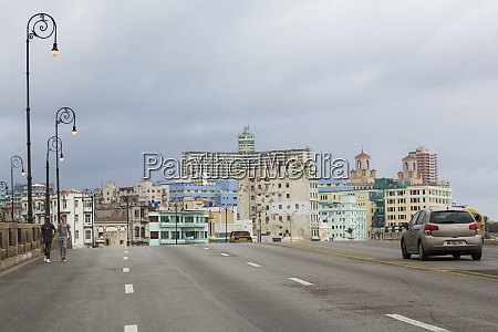 cuba havana city view on cloudy