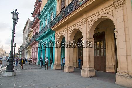 cuba havana street scenes of old